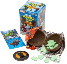 FRANK - MARVEL WONDERBALL W/ PRIZE 10 CT