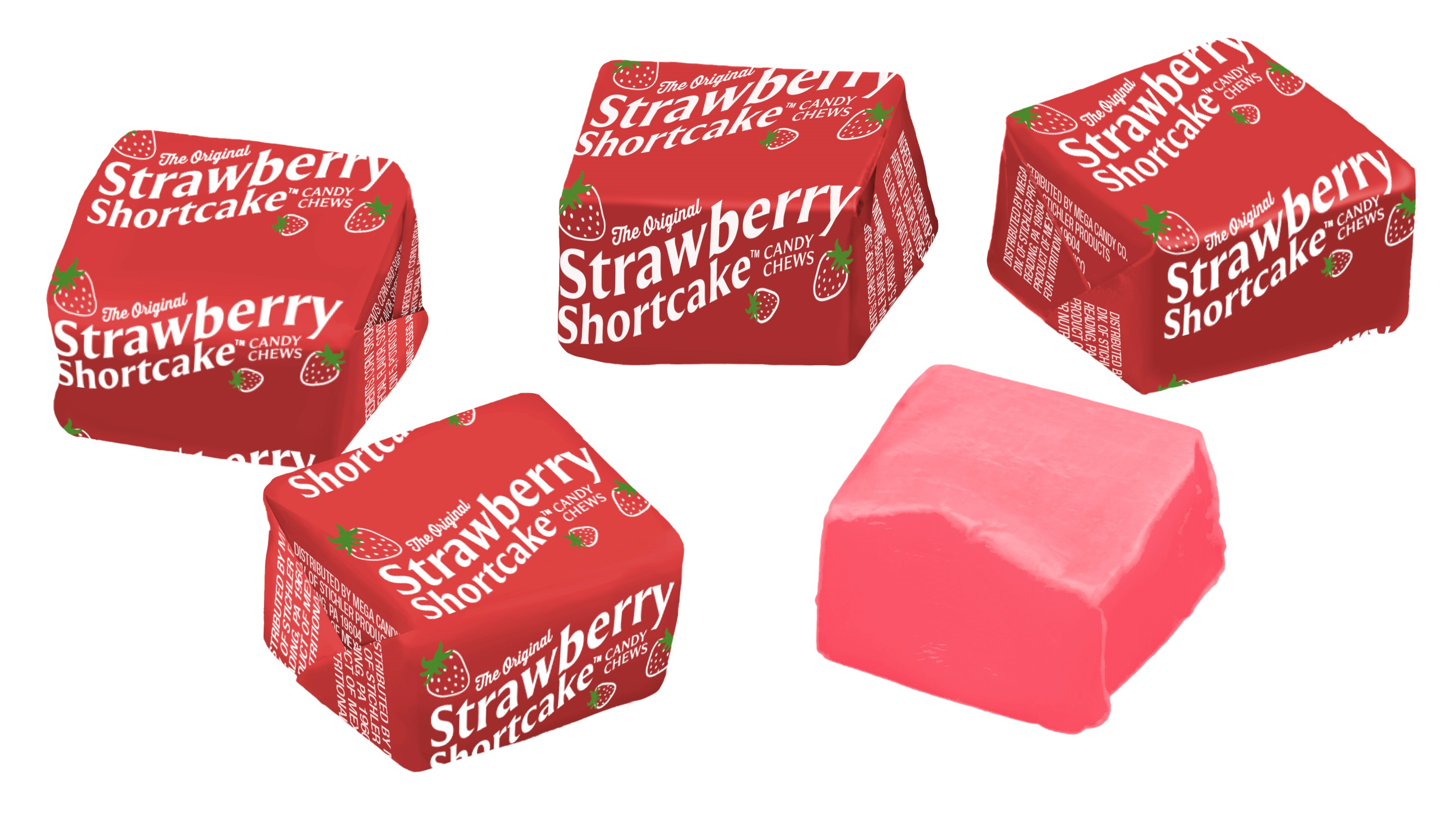 STICHLER - STRAWBERRY SHORTCAKE BULK