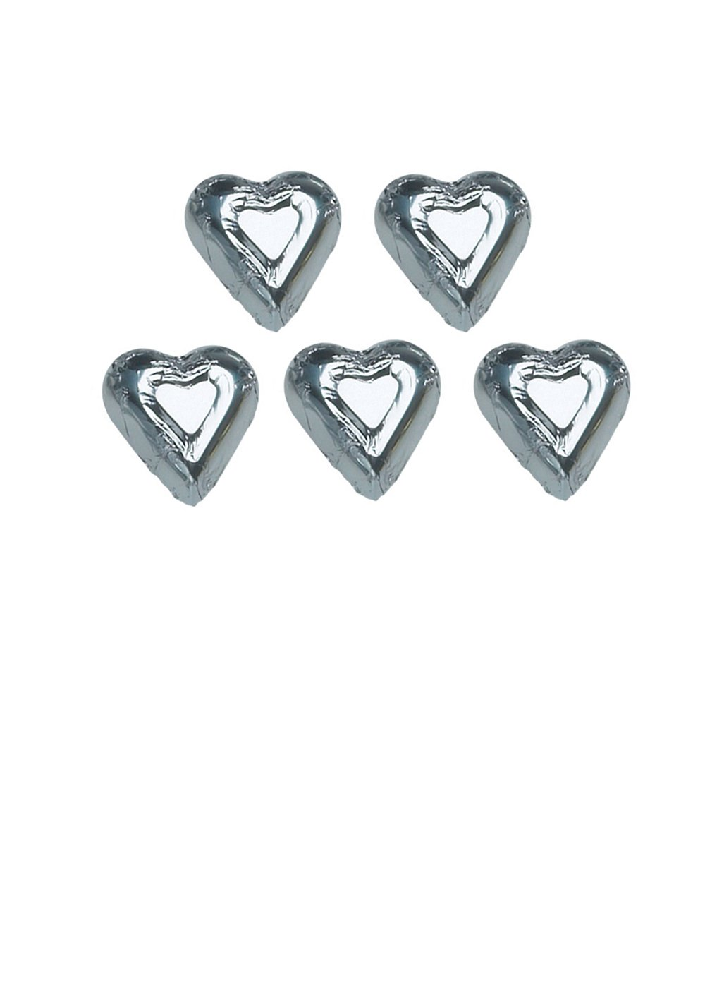 MAD - MINI HEARTS SILVER