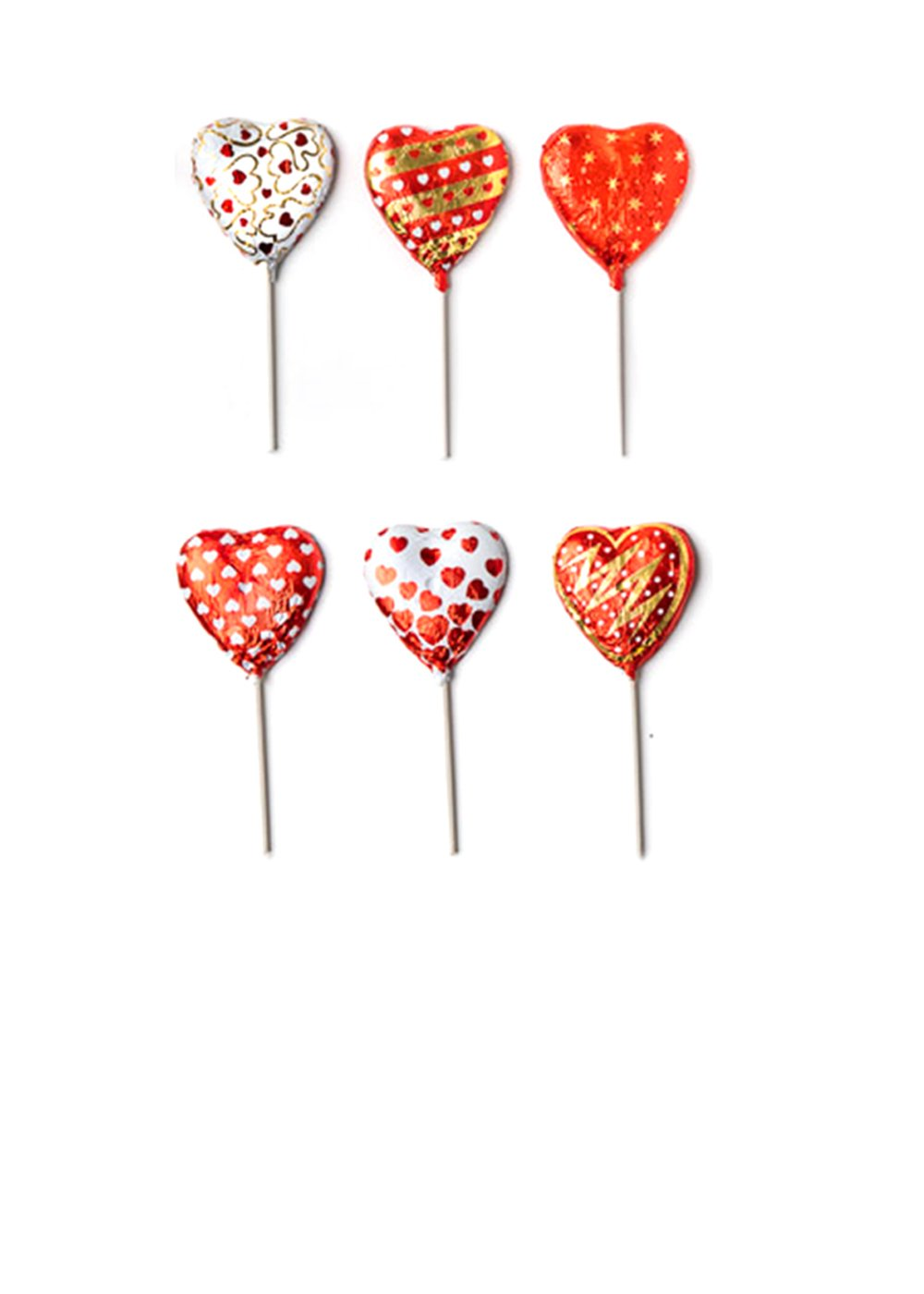 MAD - VALENTINE HEART POPS .5 OZ 24 CT