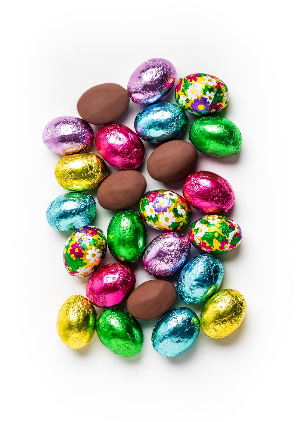 MAD - FOIL EASTER EGGS MILK