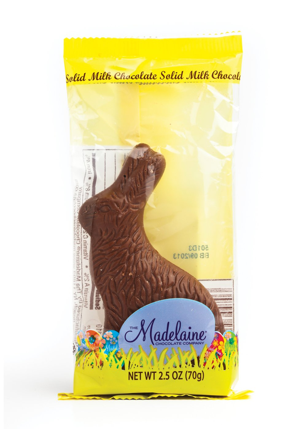 "MAD - RABBIT 2.5 OZ SITTING (4.5"") (CELLO) - 48 CT"