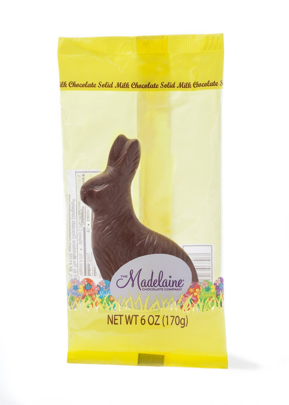 "MAD - RABBIT 6 OZ SITTING (5.75"") (CELLO)  -48 CT"