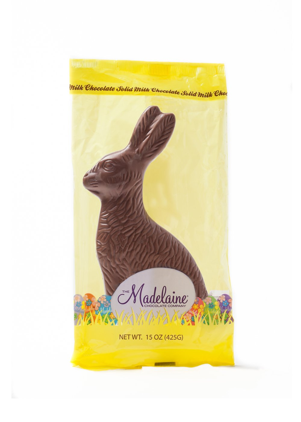 "MAD - RABBIT 15 OZ SITTING (8.75"") (CELLO) -12 CT"