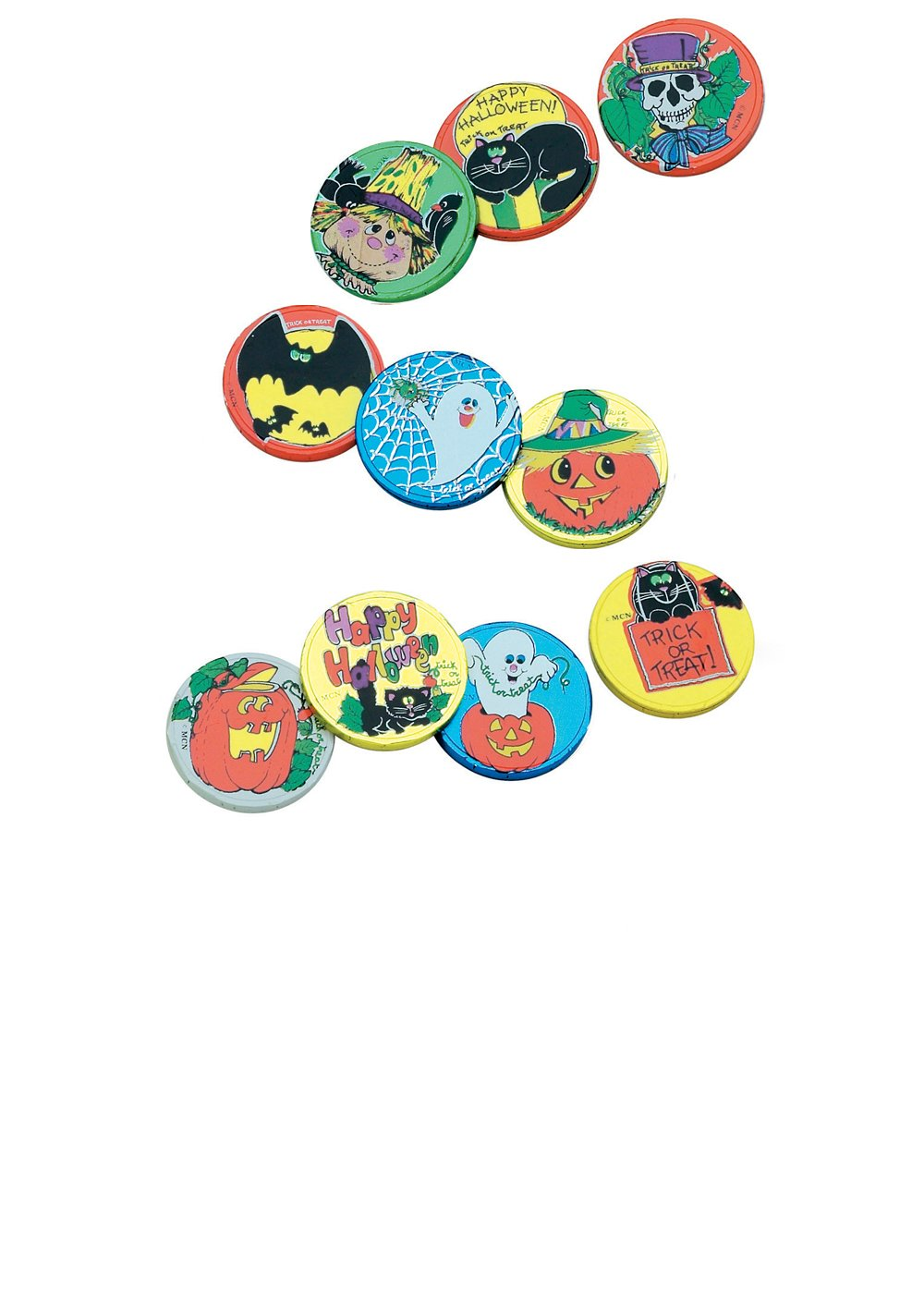 MAD - TRICK OR TREAT COINS