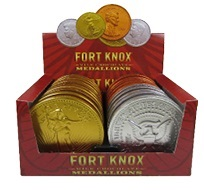VERBURG - FORT KNOX MEDALLION - 10 CT