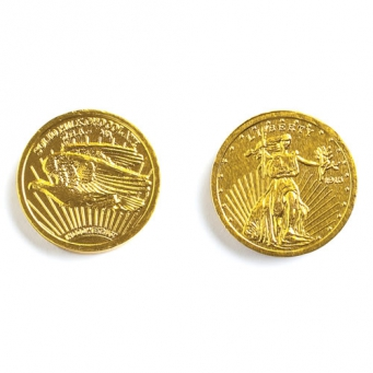 "MAD - GOLD COINS MEDIUM (1.25"")"
