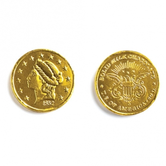"MAD - GOLD COINS LARGE (1.5"")"