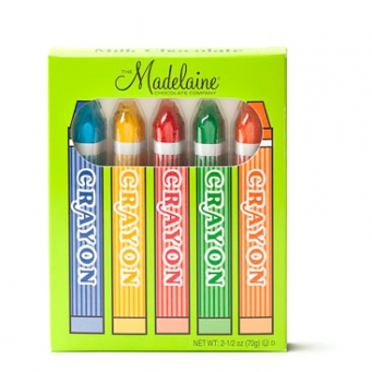 MAD - 5 PC CRAYON BOX 24 CT