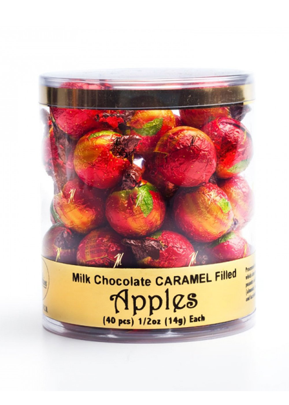 MAD - ULTRA FILLED APPLES .5 OZ CARAMEL 40 CT