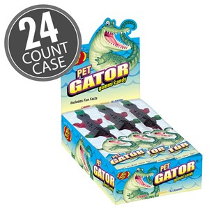 (G) GUMMI PET GATOR - 12 CT