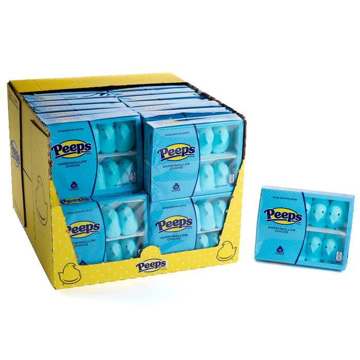 JUST BORN - PEEPS BLUE 10 PC