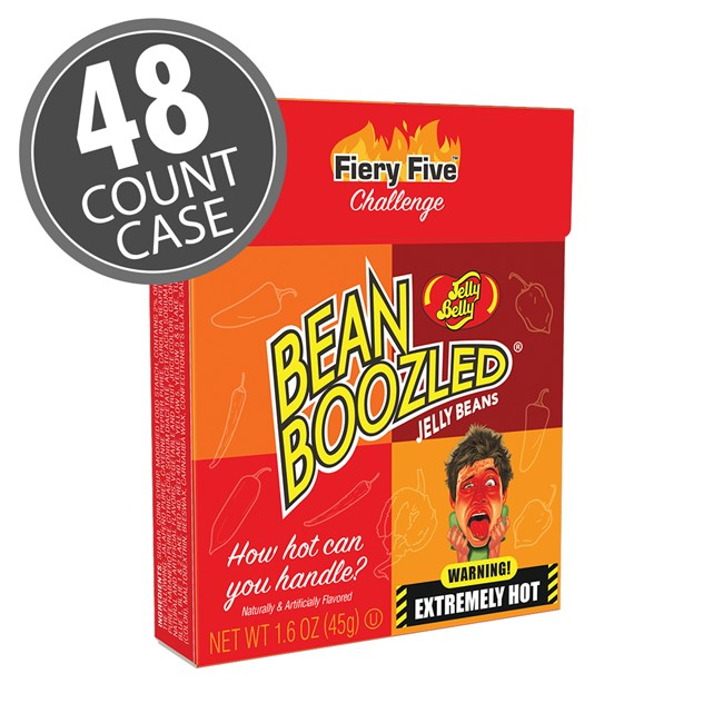 (G) BEANBOOZLED FIERY FIVE 1.6 OZ FLIP BX 48 CT