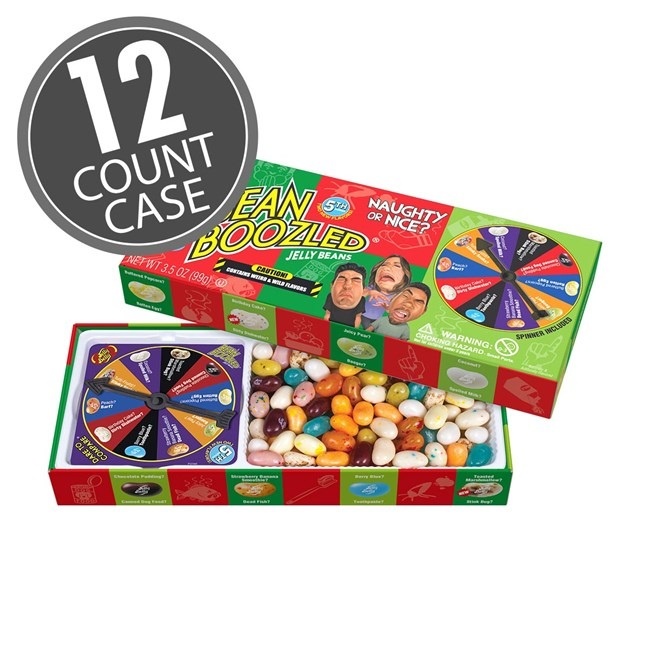 (G) 3.5 OZ NAUGHTY/NICE SPINNER GAME BX -12 CT