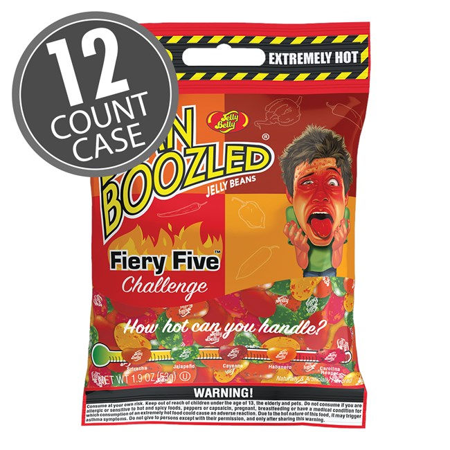(G) BEANBOOZLED FIERY FIVE 1.9 OZ BAGS 12 CT