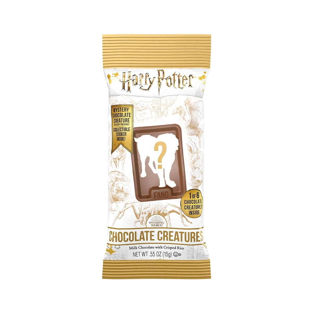 (G) HARRY POTTER CHOC CREATURES .55 OZ 24 CT