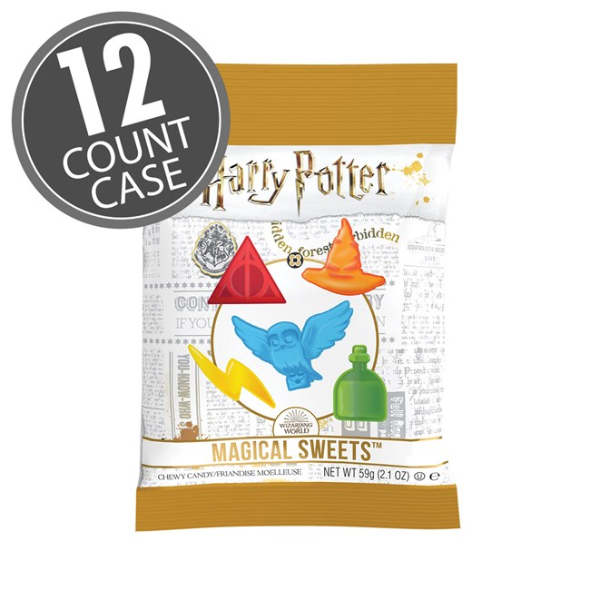 (G) HARRY POTTER - 2.1 OZ CHEWY CANDY 12 CT