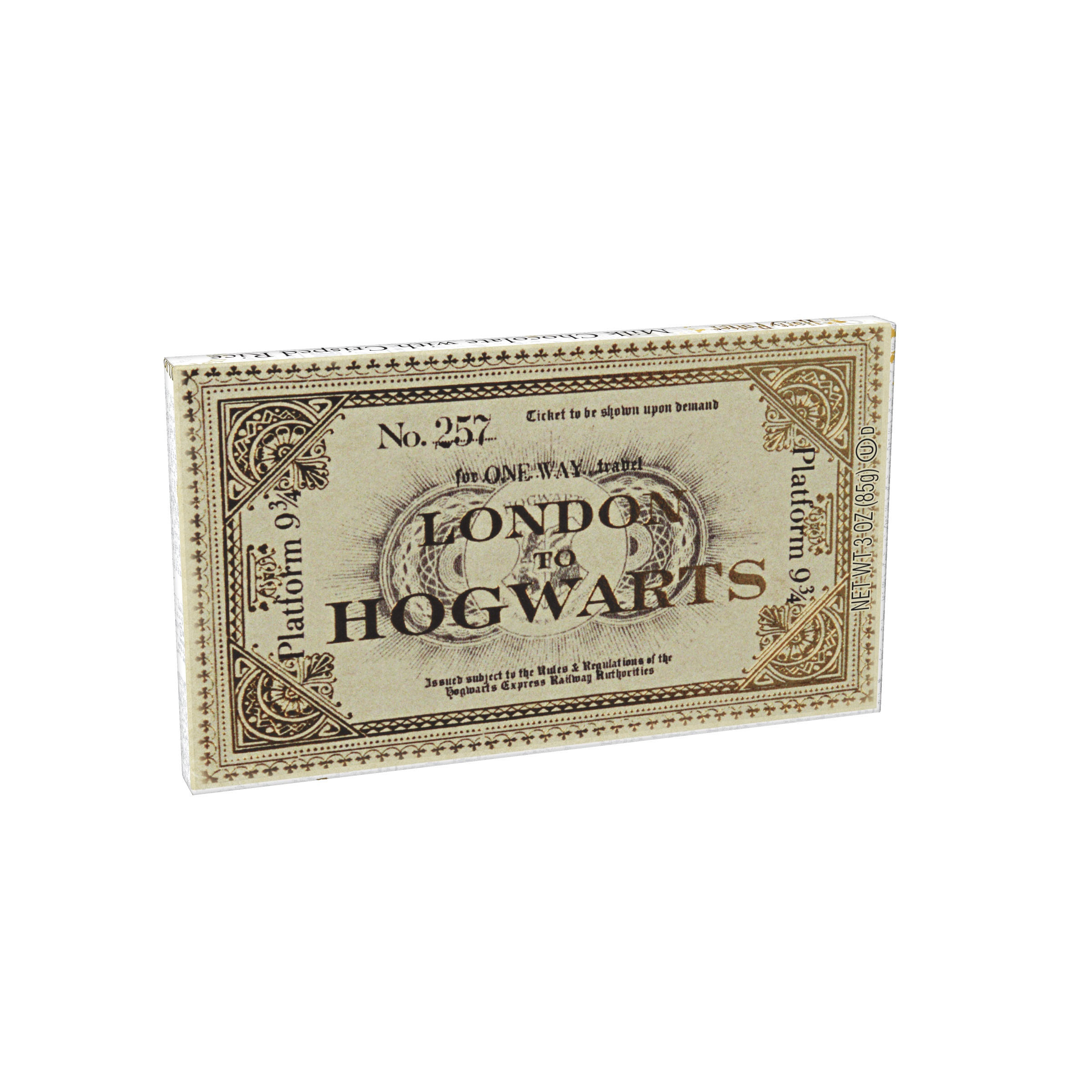 (G) HARRY POTTER PLATFORM TICKET BAR - 24 CT