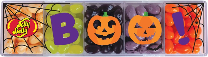 (G) BOO 5 FLAVOR CLEAR BOX - 4 OZ 12 CT