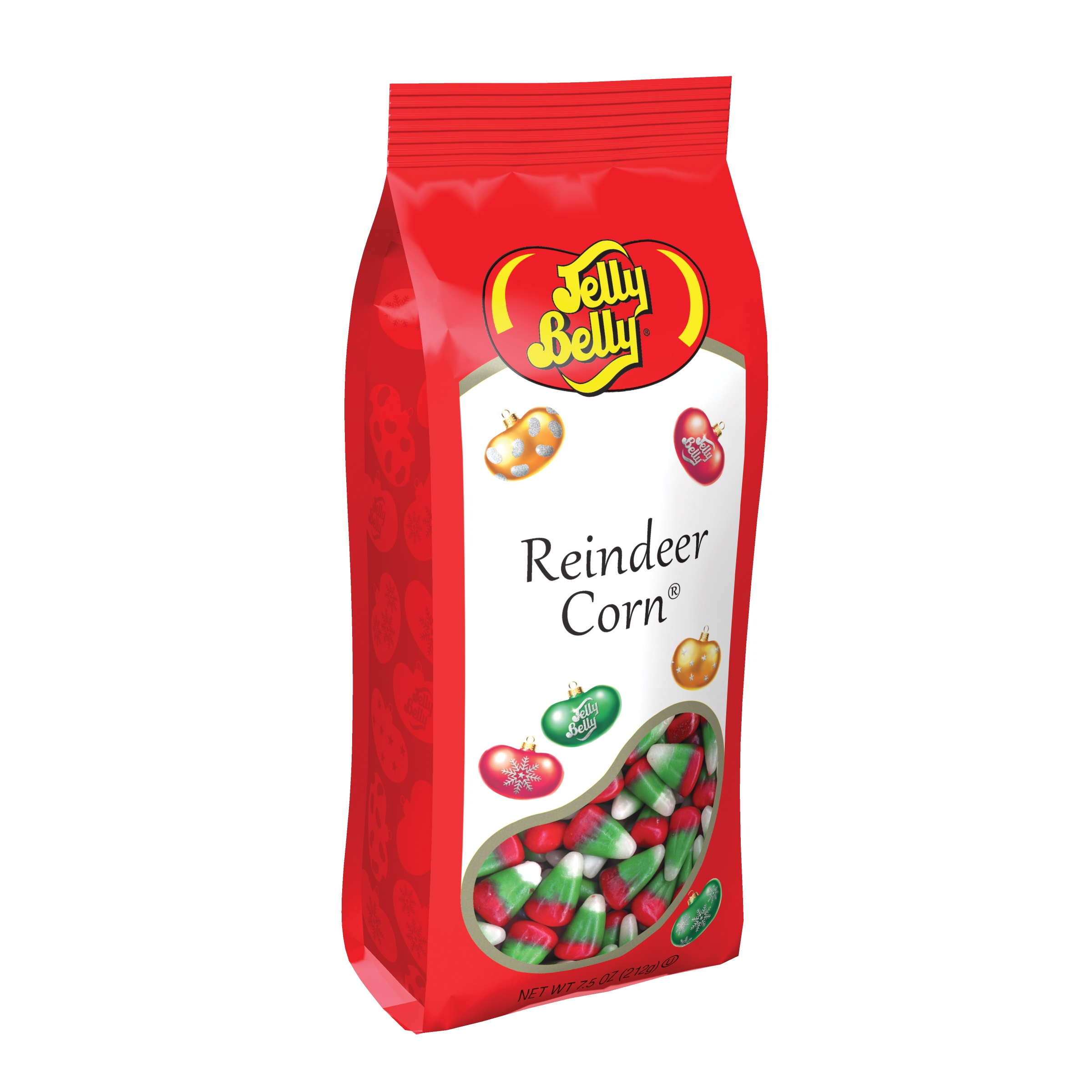 (G) 7.5 OZ REINDEER CORN BAGS-12 CT