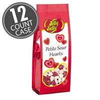 (G) 6.2 OZ PETITE SOUR HEARTS BAGS -12 CT
