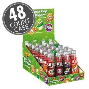 (G) 1.5 OZ JB BOTTLES - SODA POP 24 CT